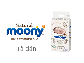 tã dán moony Natural