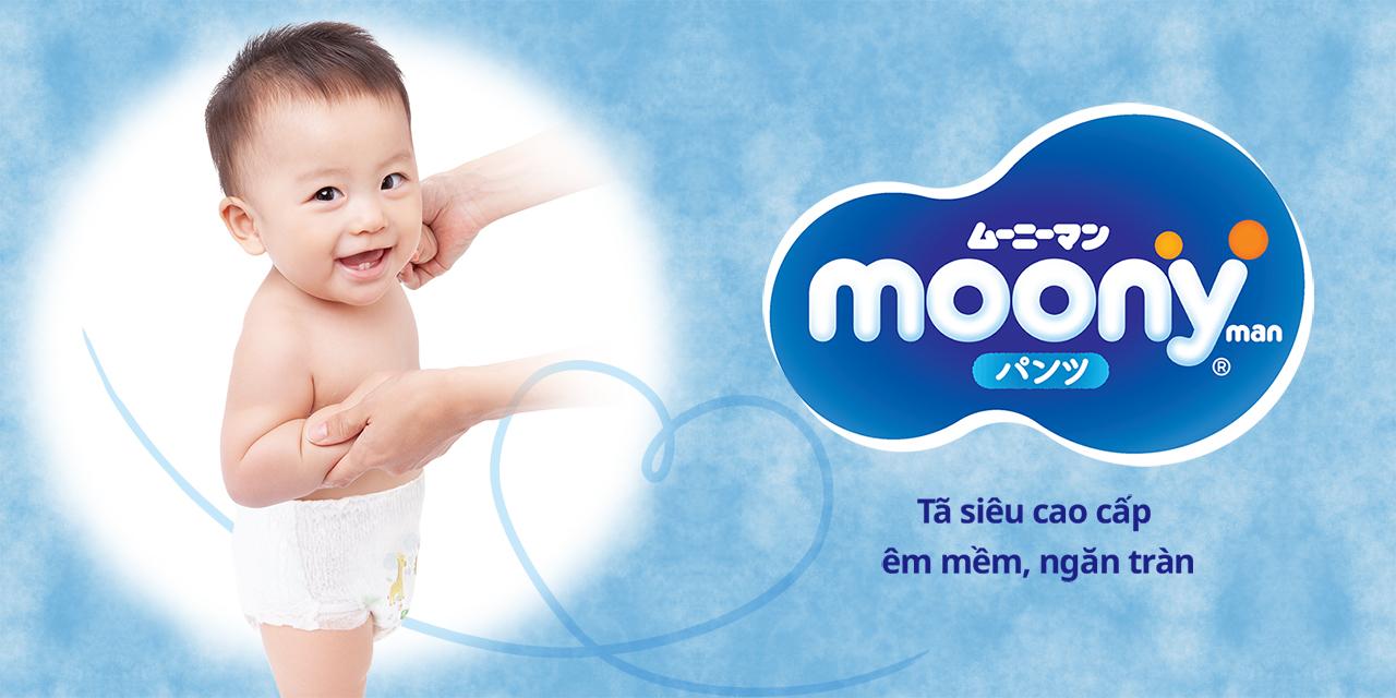 Thông tin tã - bỉm quần Moony size M